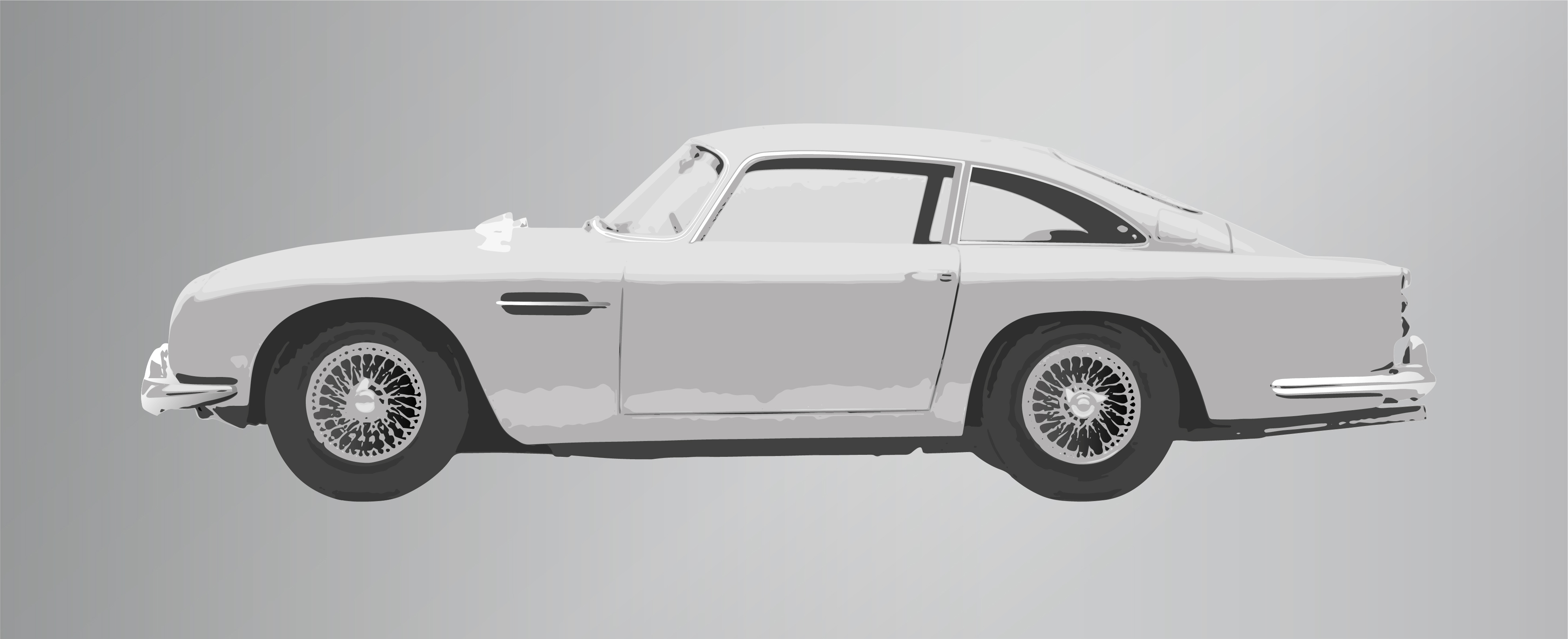 aston martin db5 classic car collection | ella freire | limited