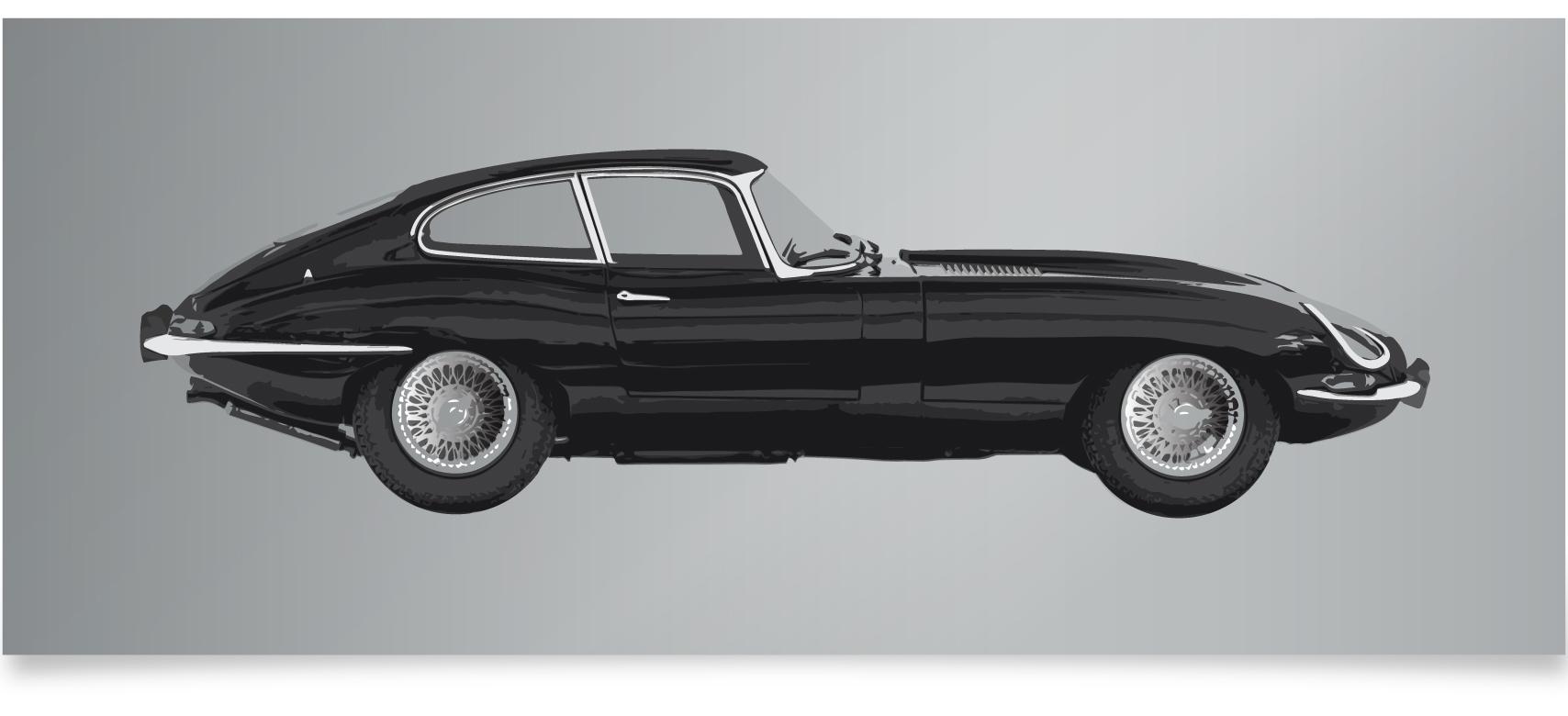 E Type Jaguar Classic Car