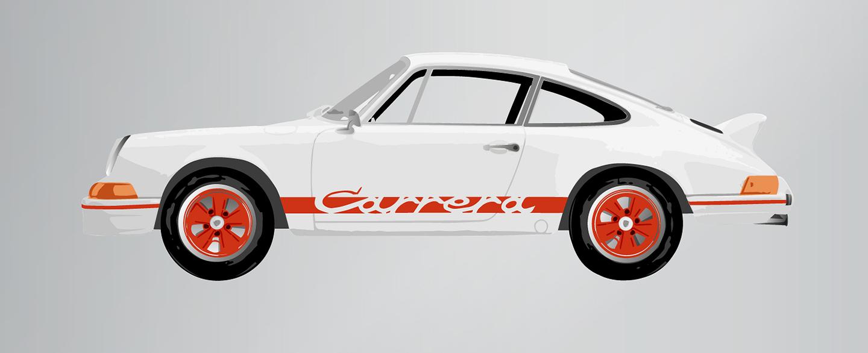 1973 PORSCHE CARRERA RS