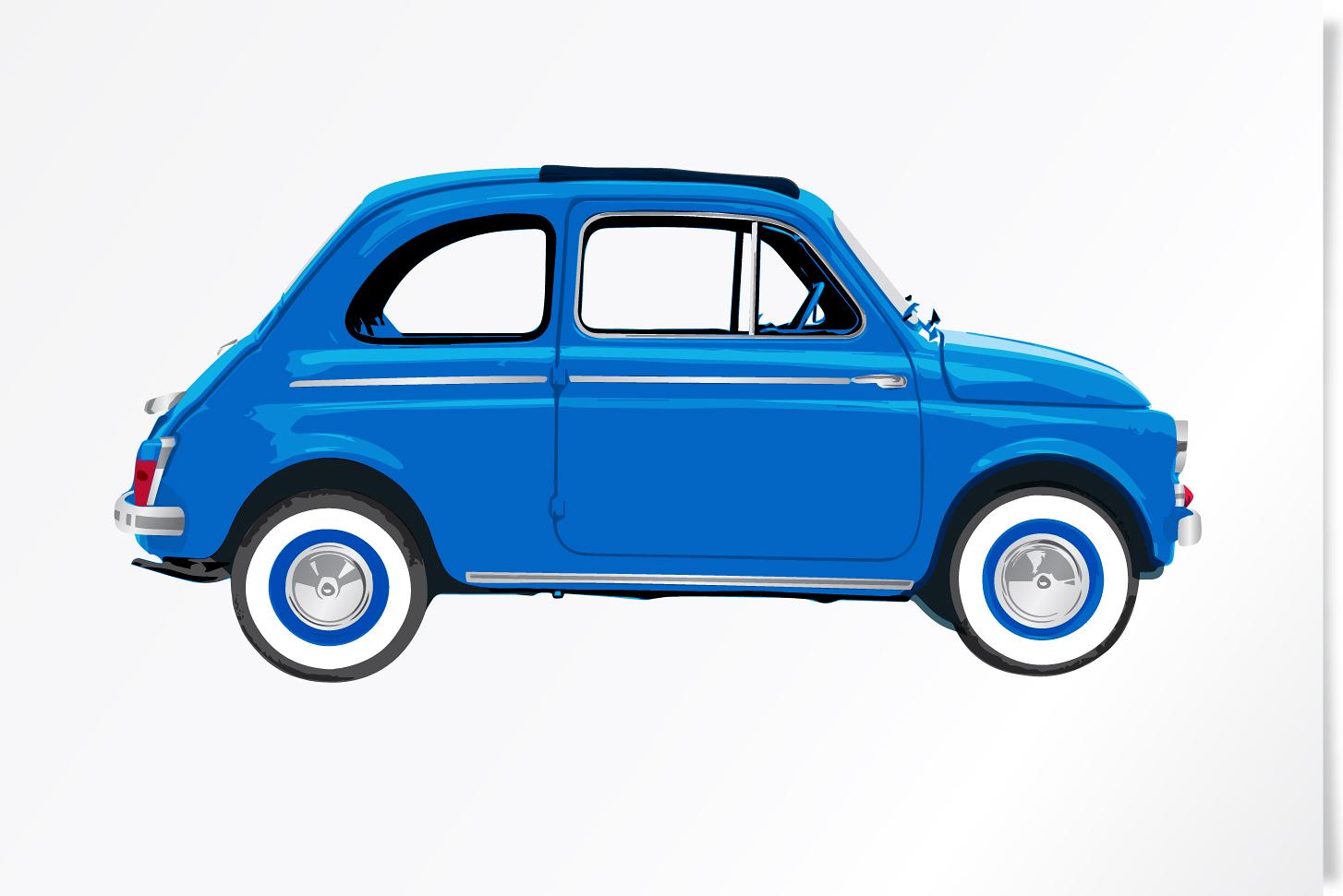 Fiat 500 Azzurro