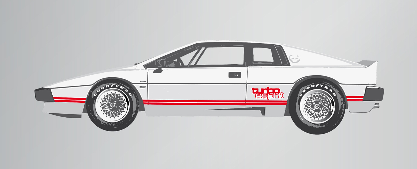Lotus Esprit Turbo (White)