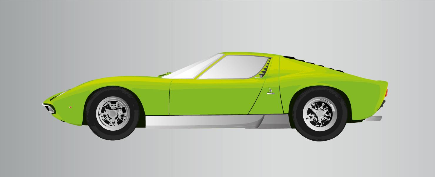 Lamborghini Miura Verde
