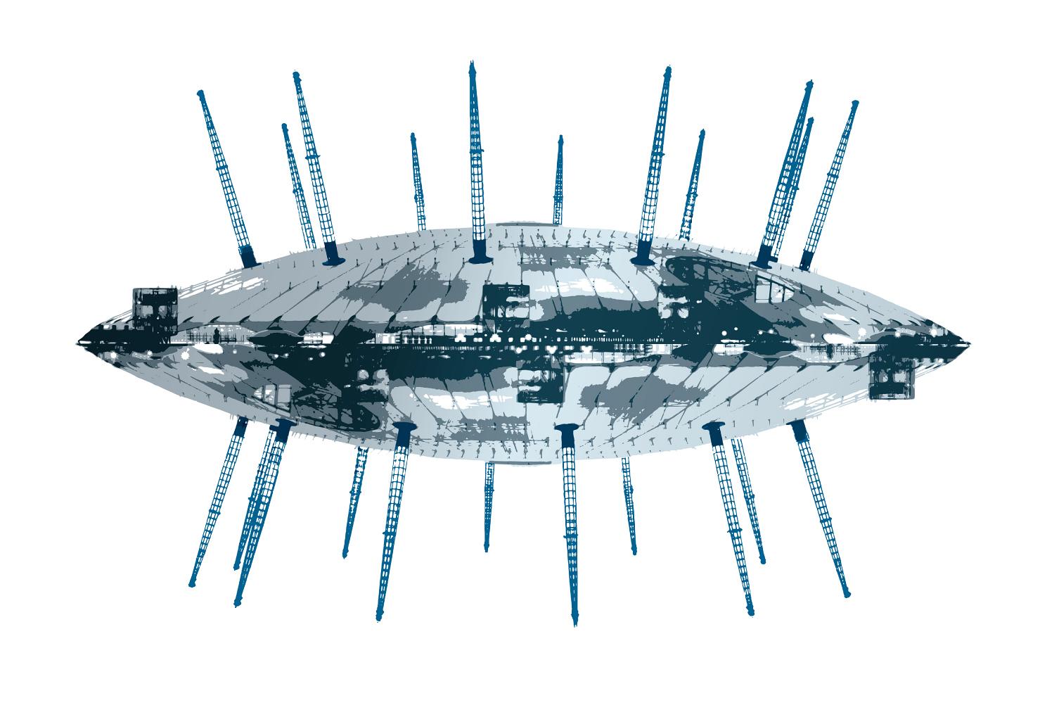UFO2 Acrylic