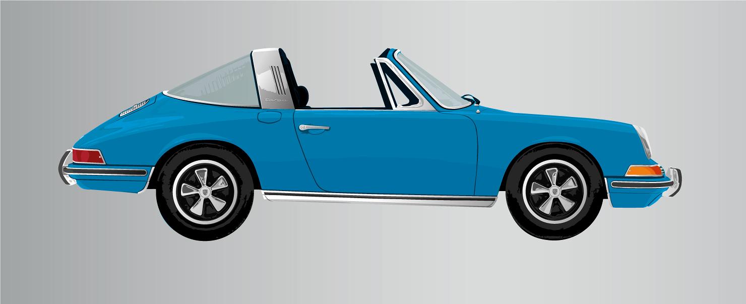 1967 Porsche Targa