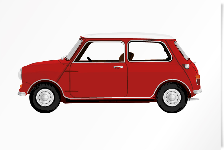 1960 Mini Red
