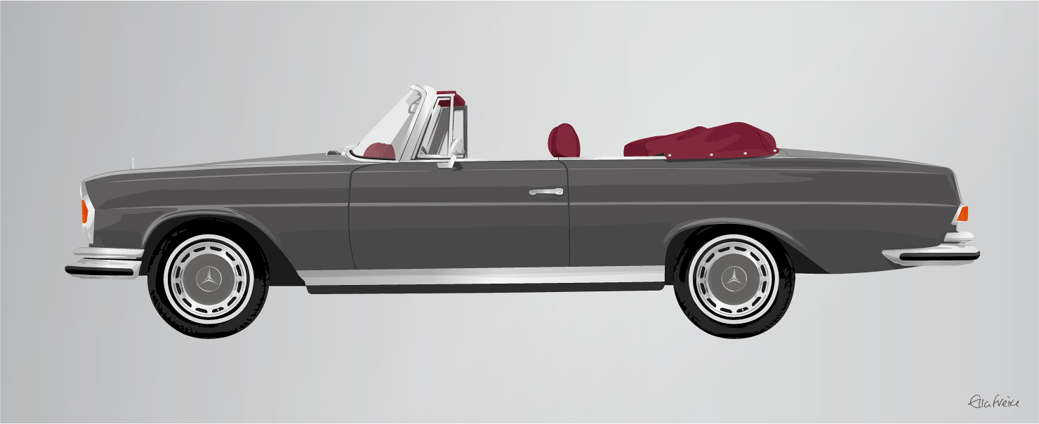 1971 Mercedes 280SE 3.5 Convertible